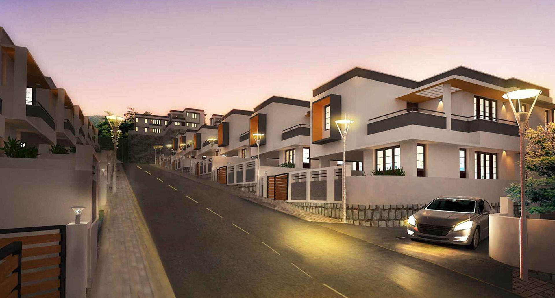 Budget Villas in Trivandrum